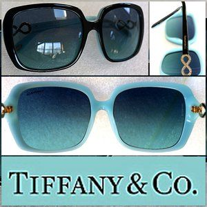 TIFFANY & CO Infinity Crystals Sunglasses Cool NEW